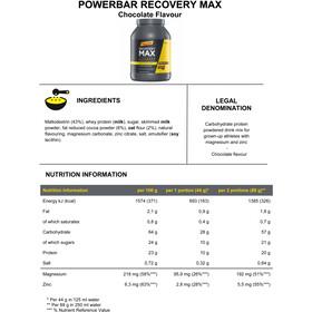 PowerBar Recovery Max Pot 1144g, Chocolate